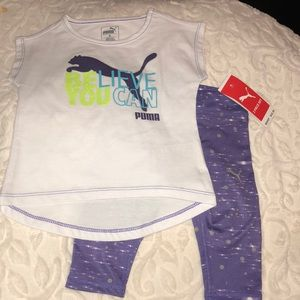 Puma Capri Active 'Believe You Can' Outfit 18M